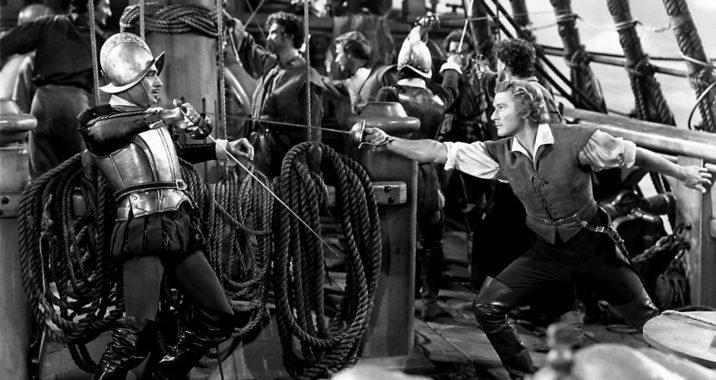 L'AIGLE DES MERS de Michael Curtiz